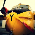 Yellow Canadair